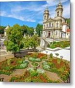 Braga Sanctuary Portugal Metal Print