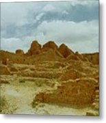 Chaco Canyon Ruins 7 Metal Print
