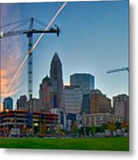 Charlotte North Carolina Early  Morning Sunrise Metal Print