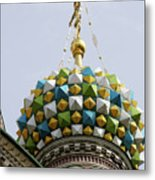 Church Of The Savior On Spilled Blood  Metal Print