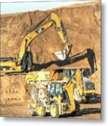 construction whsd Peterburg Metal Print