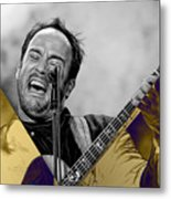 Dave Matthews Collection Metal Print