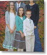 Family Pictures Metal Print