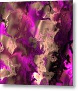 Fractal Modern Art Seamless Generated Texture Metal Print