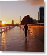 Glasgow, Scotland Metal Print