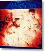 In Heaven With Jesus Metal Print