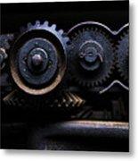 Industrial #05. Color. Metal Print