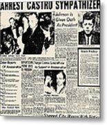 John F. Kennedy (1917-1963) Metal Print by Granger