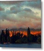 Landscape Paintings Metal Print