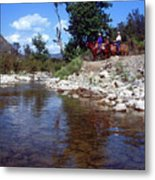 Lower Sisquoc River - San Rafael Wilderness Metal Print