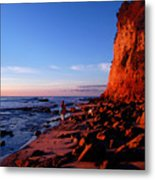 Malibu Sunrise Metal Print