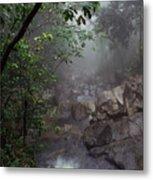 Misty Rainforest El Yunque Metal Print