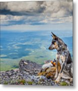 Mount Black Rock Metal Print