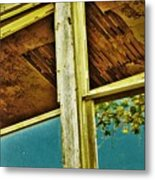 One Country Farmhouse Metal Print