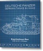 Panzerkampfwagen Maus Metal Print
