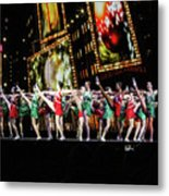 Radio City Rockettes New York City Metal Print