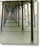 Saltburn Pier Metal Print