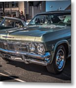 Sf Low Riders Metal Print