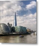 Southwark Skyline Metal Print