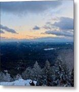 Spencer Butte Winter Summit, Eugene Oregon Feb 2018 Metal Print