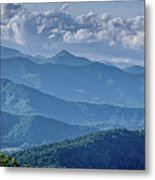 Springtime In The Blue Ridge Mountains Metal Print