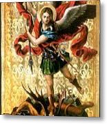 St. Michael Metal Print