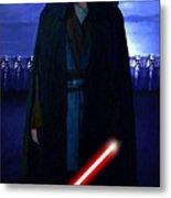 Star Wars Heroes Poster Metal Print