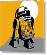Star Wars R2-d2 Collection Metal Print