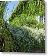 Street Scenes From Giverny France Metal Print
