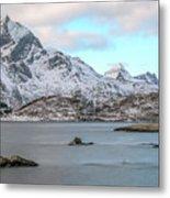 Sund, Lofoten - Norway Metal Print