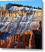 Sunset Point In Bryce Canyon Metal Print