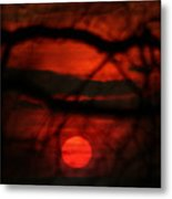 The Sunset Metal Print