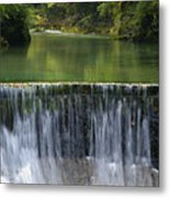 The Vintgar Gorge Metal Print