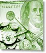 Time Is Money 16 Metal Print