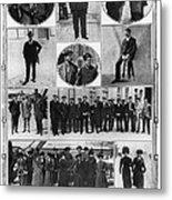Titanic: Survivors, 1912 Metal Print