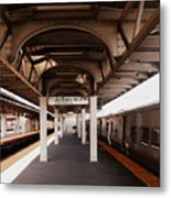 Train Station Series Metal Print