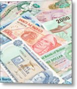 Travel Money - World Economy Metal Print