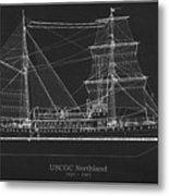 U.s. Coast Guard Cutter Northland Metal Print