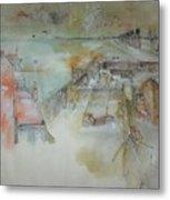 Van Gogh In Chinese Style Album Metal Print
