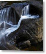 Water Flowing Metal Print