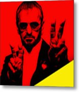 Ringo Starr Collection Metal Print