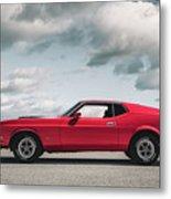 72 Mustang Metal Print