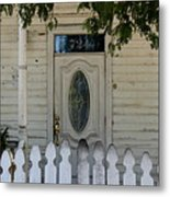 724 Key West Door Metal Print