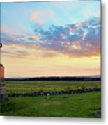 72nd Pennsylvania At The Angle Metal Print
