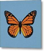 74- Monarch Butterfly Metal Print