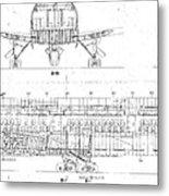 747 Metal Print