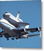 747 With Columbia At Palmdale Metal Print