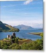 76. Eilean Donan Castle, Scotland Metal Print