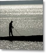 78. One Man And His Rod Metal Print
