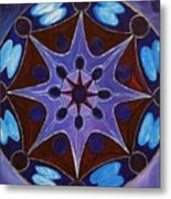 7th Mandala - Crown Chakra Metal Print